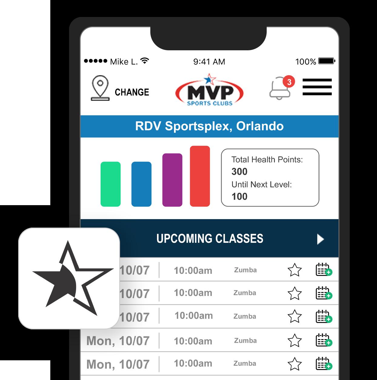 RDV Athletic Club - MVP Sports